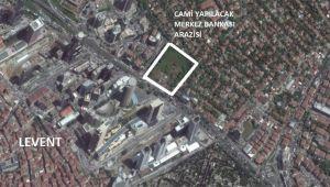 İstanbul'da kiraya çıkan Merkez Bankası'nın en değerli arsasına cami yapılıyor