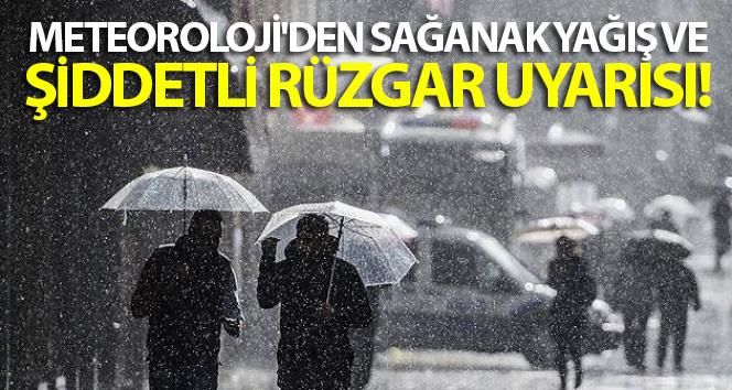 Hava durumu: Meteoroloji'den sağanak yağış ve şiddetli rüzgar uyarısı (22 Mayıs Bugün hava nasıl olacak?)