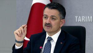 Bakan Pakdemirli: Bursa'daki selde zarar gören köylerimizle alakalı 1 milyon liraya yakın destek getirdik