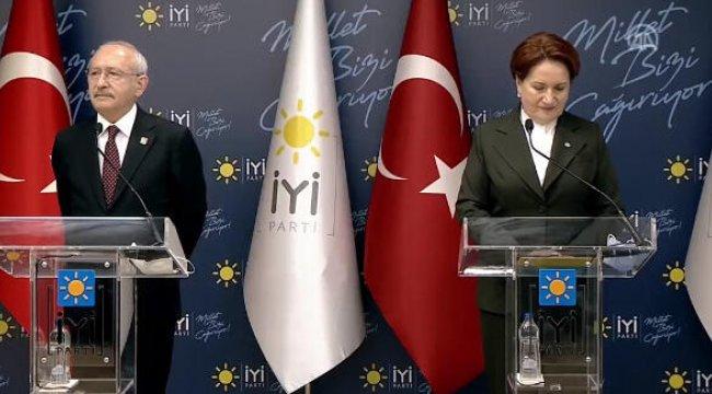 Kılıçdaroğlu'ndan Akşener'e ziyaret