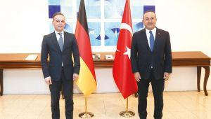 Çavuşoğlu Alman Bakana mesajı net verdi: AB'den somut adımlar bekliyoruz