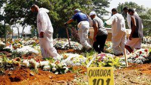 Brezilya felaketi yaşıyor: Bir günde 3 bin 500'den fazla kişi öldü