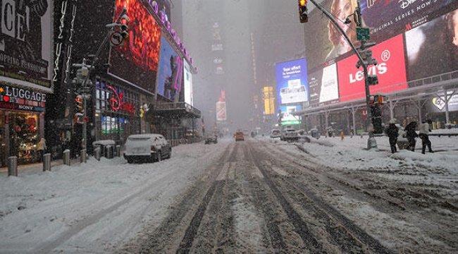 ABD'de soğuk hava dalgası uyarısı yapıldı