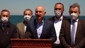 Ulaştırma ve Altyapı Bakanı Karaismailoğlu, İkizdere'deki taş ocağına ilişkin açıklama yaptı