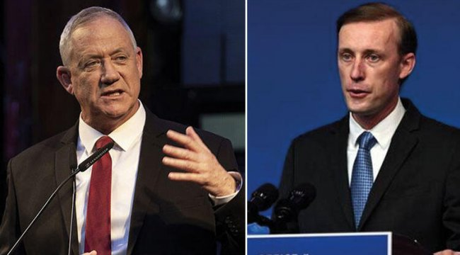 ABD Ulusal Güvenlik Danışmanı Sullivan ve İsrail Savunma Bakanı Gantz Washington'da görüştü