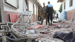 Afrin'deki hastane saldırısına peş peşe kınamalar