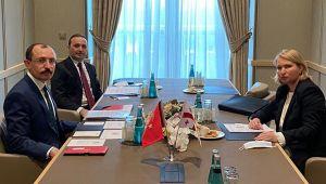 Ticaret Bakanı Muş, Gürcistanlı Bakan Turnuva ile görüştü