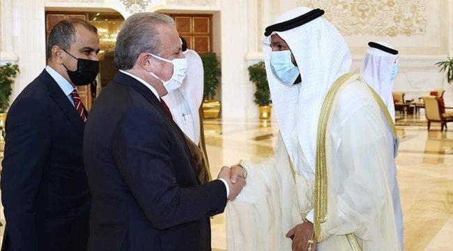 Kuveyt Emir Vekili ve Veliaht Prens Şeyh Meş'al Al Cabir Al Sabah'tan Cumhurbaşkanı Erdoğan'a övgü