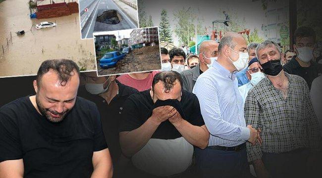 Rize'deki sel felaketi sonrası en acı veda