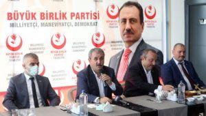 BBP Genel Başkanı Mustafa Destici, Trabzon'da gündemi değerlendirdi