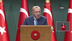 Cumhurbaşkanı Erdoğan yangında yanan arazilere ne olacağını söyledi