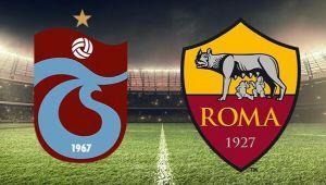 Trabzonspor Roma maçı ne zaman, saat kaçta, hangi kanalda? Trabzonspor Roma canlı yayın bilgileri
