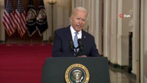 Biden'dan Afganistan'dan geri çekilme sonrası ilk açıklama: 'Tahliye olağanüstü bir başarıydı'