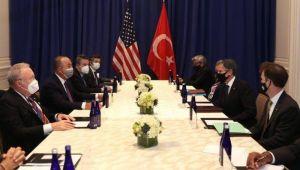 Çavuşoğlu ABD Dışişleri Bakanı Blinken'la Görüştü