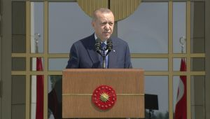 Cumhurbaşkanı Erdoğan: Büyük ve güçlü Türkiye silüeti ufukta gözükmüştür