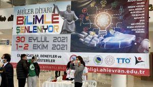 Ahiler diyarı Kırşehir'de bilim ve teknoloji şenliği düzenlendi